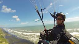 Kariotahi (high side) Paragliding