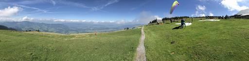 Niedere - Andelsbuch  Paragliding