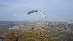 Stavrovouni  Paragliding
