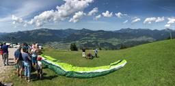 Unterberghorn 2 Paragliding