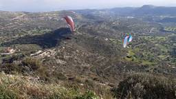 Castle of Fasoula Paragliding