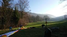 Schauinsland Talstation Paragliding