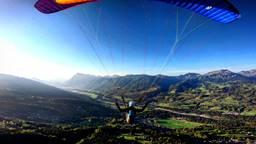 Les Saix / Samoens Paragliding