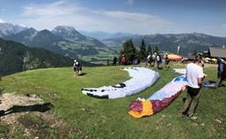 Unterberghorn 1 Paragliding
